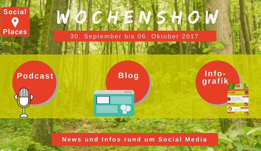 News vom Facebook und WhatsApp Messenger, Instagram und Snapchat