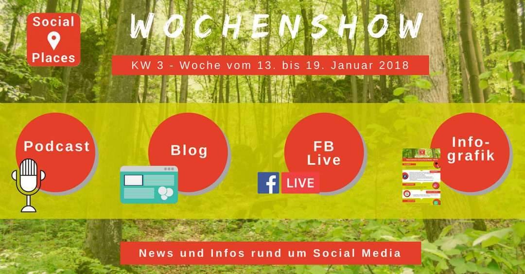 News von Facebook, Instagram, WhatsApp, Xing und YouTube