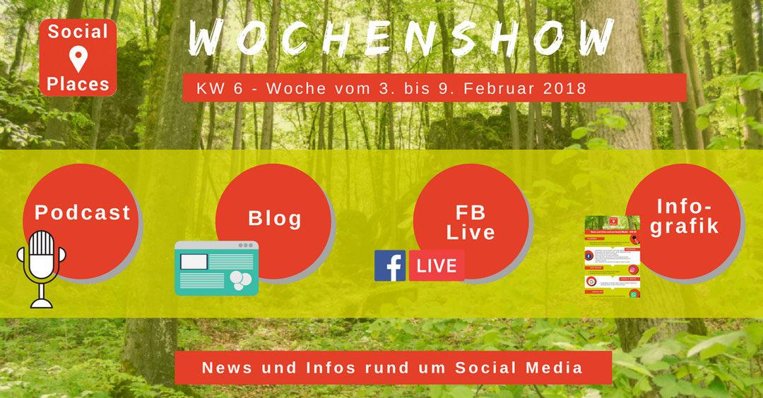 News von Facebook, Instagram, WhatsApp, Snapchat, Twitter, Xing und Messenger-Marketing
