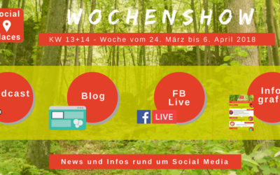 Social Media News aus der 13. + 14. Kalenderwoche